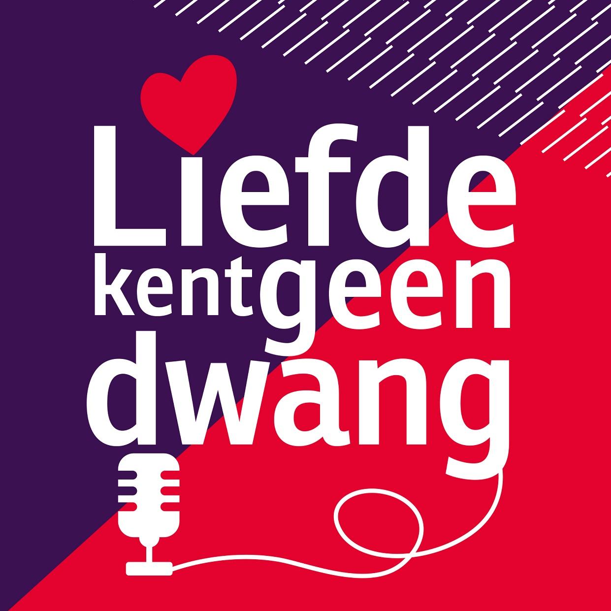 logo van de podcast Liefde kent geen dwang